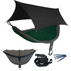 ENO SingleNest OneLink Sleep System  ForestCharcoal Hammock With Black Profly >>> Click image to review more details.(This is an Amazon affiliate link and I receive a commission for the sales)