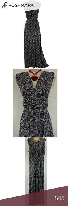 Selling this Size XXL Soft BLACK & WHITE MAXI DRESS Plus Size on Poshmark! My username is: sexycurvygirls. #shopmycloset #poshmark #fashion #shopping #style #forsale #Spense #Dresses & Skirts