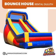 At Kool Bounce Party, we have discounted rental prices for standard Bounce House Rental, Inflatable Water Slide Rental, and Moonwalk Rentals in Duluth. Bounce House Parties, House Party, Moonwalk Rentals, Water Slide Rentals, Inflatable Rentals, Bounce House Rentals, Bubble Machine, Party Needs, Water Slides