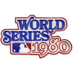 1980 World Series MLB Baseball Patch - Philadelphia Phillies Champions
