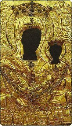 Παναγία Μυρτιδιώτισσα (24 Σεπτεμβρίου)   Το σπιτάκι της Μέλιας Religious Icons, Religious Art, Christian Paintings, Who Is Jesus, Black Jesus, Africa Map, Black History Facts, Archangel Michael, Orthodox Icons