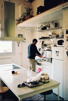 I have a thing for men in kitchens. Can't resist.