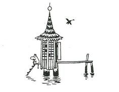 "Loneliness moomintrivia: "" Loneliness is one of the key themes in Moomin books. Tove Jansson was very familiar with this experience. Moomin Tattoo, Tattoo Illustration, Illustrations And Posters, Dream Tattoos, Illustration, Moomin, Art, Ethereal Art, Illustration Print"
