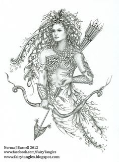 norma j burnell free coloring pages | Another larger piece...roughly 7.5 x 8.5 inches, micron pen and ...