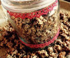 Rezept Knusper Müsli mit wenig Zucker & trotzdem super lecker von Olla di Bolla - Rezept der Kategorie sonstige Hauptgerichte
