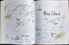 Benji Davies Archipelago, Whale, Bee, Ocean, Island, Maps, Fiction, Block Island, Whales