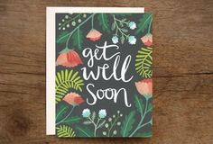 One Canoe Two - Get Well Soon Card
