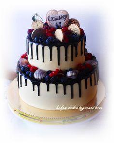 Юбилейный торт от пользователя «Titovajena» на Babyblog.ru