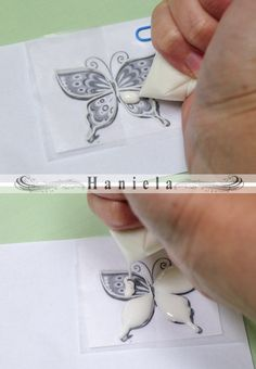 Haniela's: Royal Icing Butterflies