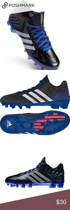adidas CRAZYQUICK Men's Football Cleats Made with a light and flexible techfit upper with QUICKWEB mesh, the Adidas Crazy Quick Low Men's Football Cleats feature QUICKFOAM padding in the heel and the QUICKFRAME plate outsole for the fastest cuts and breaks. adidas Shoes Athletic Shoes