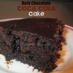 Recipes For My Boys: Dark Chocolate Coca Cola Cake From A Cake Mix