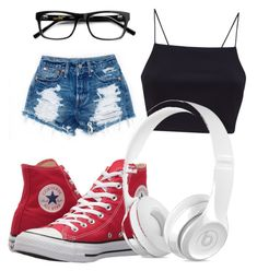 """Why"" by victoriabarger on Polyvore featuring Converse"