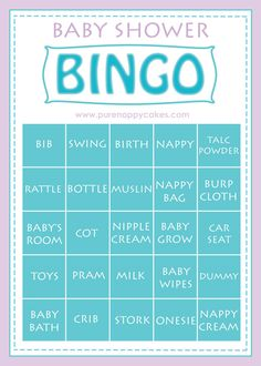 Baby Shower Bingo Game Pack 8 Player Ice Breaker New Unisex Fast Delivery Bonus Predictions & Who knows mummy best game included