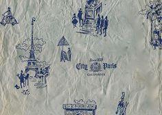 vintage tissue paper