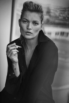 Kate Moss, Paris, 2014 Vogue Italia © Peter Lindbergh (Courtesy of Peter Lindbergh, Paris / Gagosian Gallery) Giorgio Armani, S/S 2015
