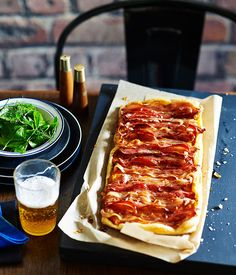 Maple, Bacon and Pumpkin tart | Australian Gourmet Traveller