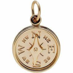 Rembrandt Charms Compass Charm, Gold Plated Silver Rembrandt Charms. $41.50. Lifetime Guarantee. Heavy-Duty Jump Ring. Hand Polished. High Polish Finish