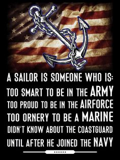 In ALL the branches, 'cause you never know where the next threat to liberty will be. Military Quotes, Military Humor, Navy Military, Military Life, Military Personnel, Navy Memes, Navy Humor, Navy Day, Go Navy