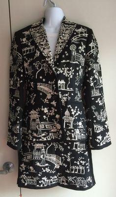 Beautiful 2 piece jacket skirt set Vintage by VintageChineseSilk