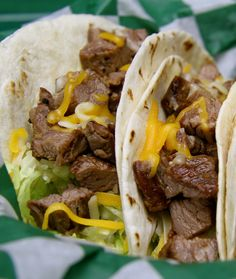 Steak Tacos - try with pork?