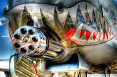 15 Awesome Examples of Military Nose Art