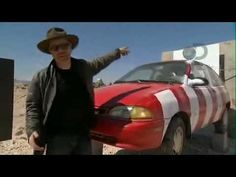 Mythbusters- Rocketsled Destroys Car. The best part starts at 3:20 with the hi-def, slo-mo of the car getting vaporized. *sniff* Brings tears to my eyes.....so beautiful.