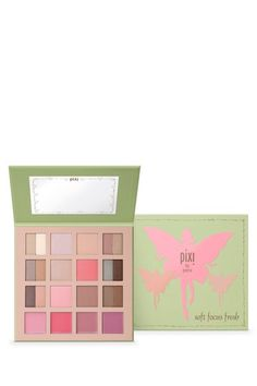 Pixi Beauty  Exclusive Soft Focus Fresh Palette - 12 Eye Shadows, 4 Lip Glosses, 6 Cheek Powder