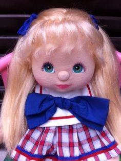 Bambola My Love Mattel - My Child doll, UL bionda pink/charcoal make up