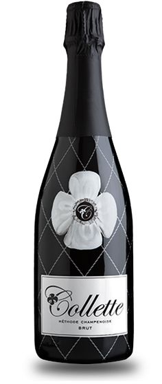Collette Sparkling Wine Brut-at the Bello Winery in Napa