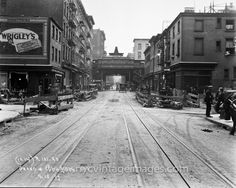Grand and Thompson Streets, 1927