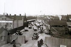 Helsingin kaupunginmuseon kuva-arkiston aarteita: Töölön tavara-asema vuonna 1928