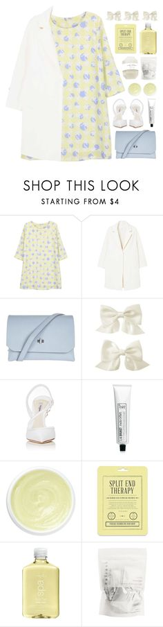 """""""Paper Town"""" by vip-beauty ❤ liked on Polyvore featuring MANGO, Topshop, Gymboree, Olgana, L:A Bruket, Eve Lom, Love 21 and H2O+"""