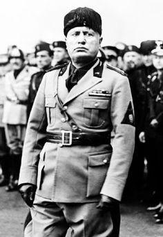 Benito Mussolini (7/29/1883)-(4/28/1945)