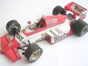 F1 Paper Model - Zakspeed 841 Free Template Download