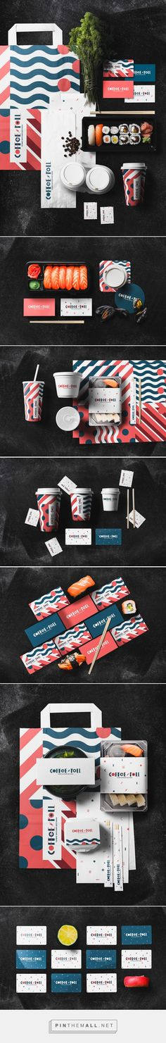 Japanese food delivery service on Behance - created via https://pinthemall.net