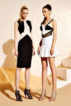 Two of my favorite looks from Zuhair Murad Resort 2015 Collection