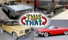 Which one of these early Sixties convertibles would you choose for... | Hemmings