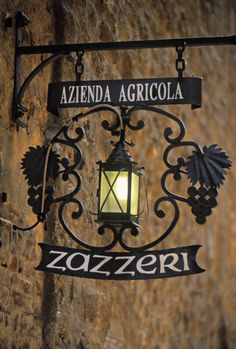 *Wine Shop Sign, Pienza, province of Siena Tuscany, Italy