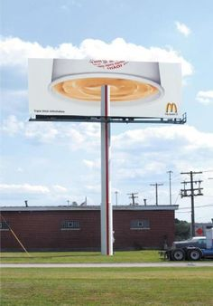 Deliciously Creative Ads from McDonald's Guerrilla Marketing Photo (via Creative Guerrilla Marketing)