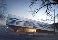 Project of Curtural Center for Sucha Beskidzka City.