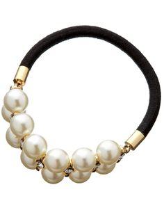 Fermacoda con perla e strass | Carne | Accessorize