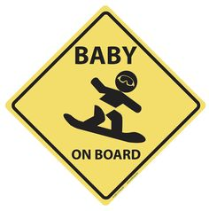 Hey, I found this really awesome Etsy listing at https://www.etsy.com/listing/215964045/baby-on-board-vinyl-decal-snowboard