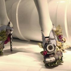 Steampunk or Alice & Wonderland Shoes