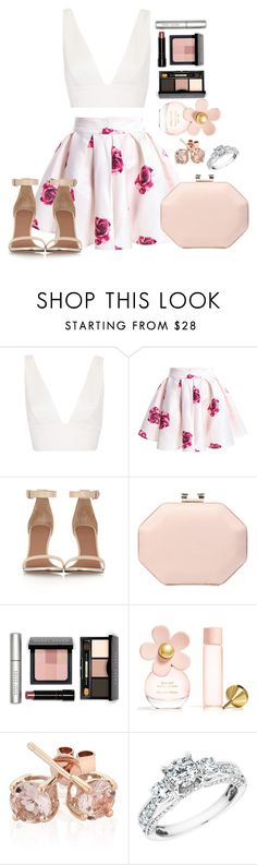 """""""Untitled #538"""" by fabianarveloc on Polyvore featuring Topshop, Givenchy, Ann Taylor, Bobbi Brown Cosmetics, Marc Jacobs and Reeds Jewelers"""