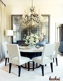 Dining Room By Susan Ferrier   House Beautiful. Love The Foxed Glass Mirror. Part 41