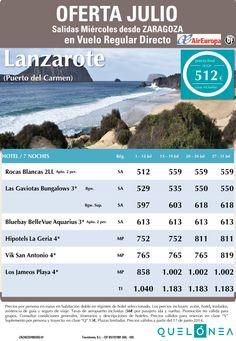Oferta Julio Lanzarote (Zona Pto. del Carmen) desde 631€ Tasas incluidas. Salidas desde ZAZ ultimo minuto - http://zocotours.com/oferta-julio-lanzarote-zona-pto-del-carmen-desde-631e-tasas-incluidas-salidas-desde-zaz-ultimo-minuto/