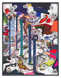 Franz Ackermann, German (b.1963)_ Franz Ackermann is a multimedia artist whose practice is entwined with the action and implications of travel and tourism. His works encompass painting, drawing, photography, sculpture, and, perhaps most famously, immersive installations.