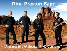 "Check out Dina Preston Band ""Ambassadors of Goodwill"" on ReverbNation"