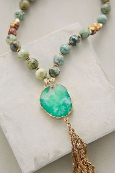 Sunshower Pendant Necklace #anthrofave