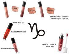 Lipsticks that suit you that best according to your Zodiac sing!  #zodiaclipstick #zodiacsing #zodiac #horoscopes #lipsticks #makeup #capricornsign  #capric